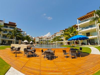 Photo for The Penthouse in Playa del Carmen! Private Beach Club.