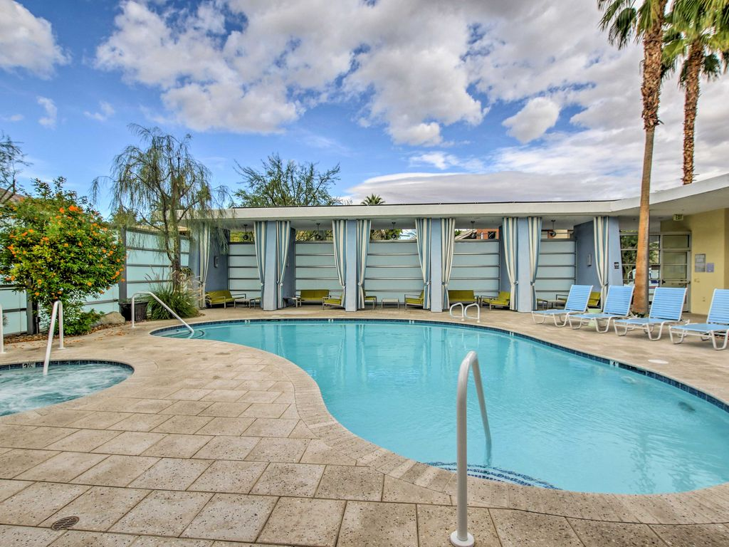 Palm Springs Condo W Luxe Amenities Amp Mtn Vrbo