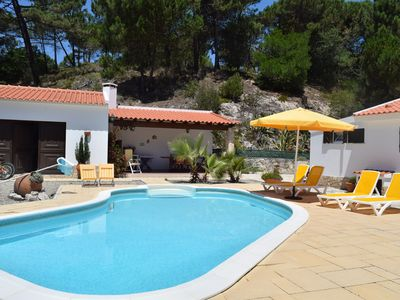 Photo for House in Obidos Lagoon with garden and private pool,Free WIFI