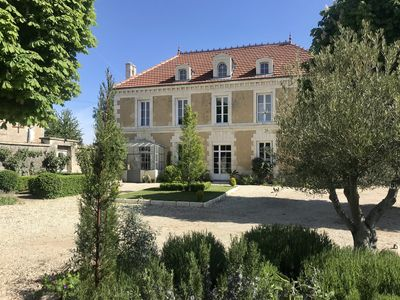 Photo for Lovely Maison: Private Pool; Idyllic Park-like Grounds by Cognac & Angouleme