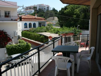 Photo for Simple apartment situated in a very central area, just 100 meters from the Port beach. The