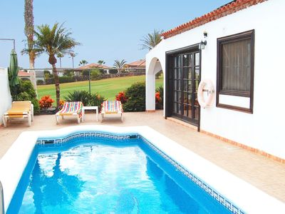 Photo for La Quinta 263  - 3 bed villa with heated pool, sea views, wi-fi & satellite TV