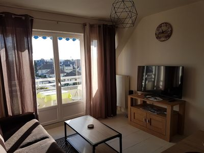Photo for 1BR Apartment Vacation Rental in Ouistreham