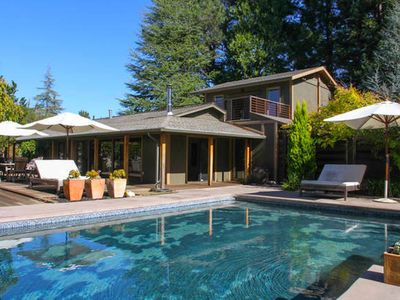 Photo for Serene Wine Country Pool Retreat