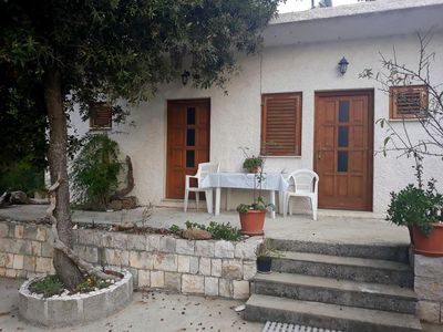 Photo for One bedroom apartment with terrace Cove Blaca, Mljet (A-10416-c)