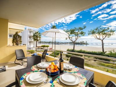 Photo for 2 bedroom Apartment, sleeps 4 in Port d'Alcudia with Air Con and WiFi