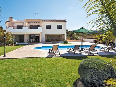 Photo for Villa in spacious grounds w/ private pool, BBQ, games room + free Wi-Fi