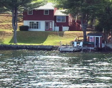 Photo for Lake Winnipesaukee Waterfront Cottage with Boat Dock, Alton Bay, NH