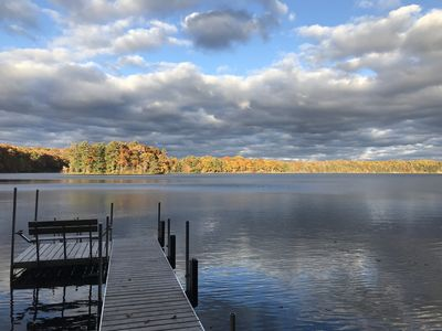 Photo for NORTHWOODS LAKEFRONT VACATION HOME, Recently updated for Today's travelers