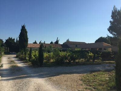 Photo for ALPILLES, Mas campaign of St REMY OF PVCe. 190 m2 / 5 ha / private heated pool