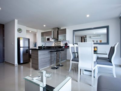 Photo for New, CENTRAL and comfortable apartment in Cartagena