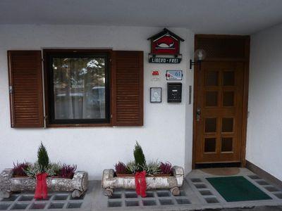 Photo for Rustic Apartment near Ski Areas with Wi-Fi, Garden and Terrace
