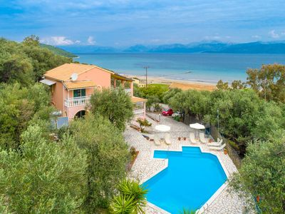 Photo for Villa Thespina: Large Private Pool, Walk to Beach, Sea Views, A/C, WiFi