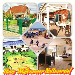 Photo for Holiday house Neßmersiel for 4 - 6 persons with 3 bedrooms - Holiday house