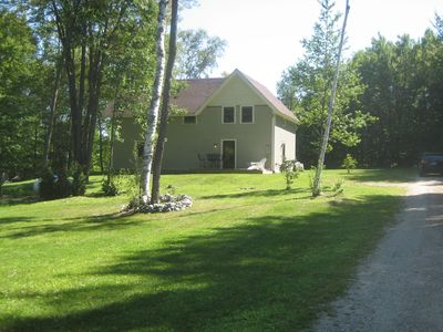 Photo for Rustic Getaway nestled on four private acres in the Green Mountains of Vermont.