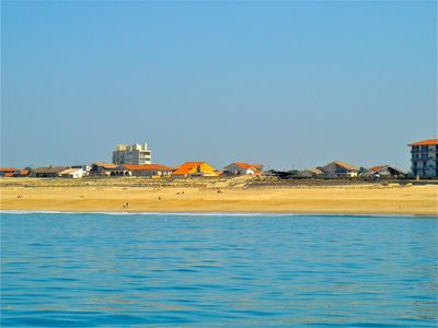 Photo for Seaside villa on the beach in Hossegor. Facing the North. Seaview.