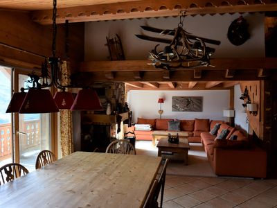 Photo for Charm and comfort Large duplex in chalet on the slopes for 12/14 pers