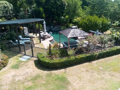 Photo for Magical Retreat with Luxury Pool & Spa