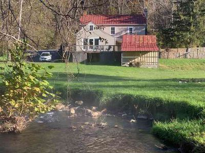 Photo for Charming Cottage in the Village of Warm Springs with Warm Thermal Spring