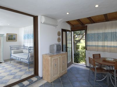 Photo for EUC 107_Apartment, surrounded by greenery, with sea view and swimming pool.