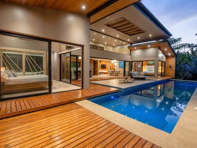 Photo for Spectacular Casual Elegance in a Very Private Gated Tropical Setting