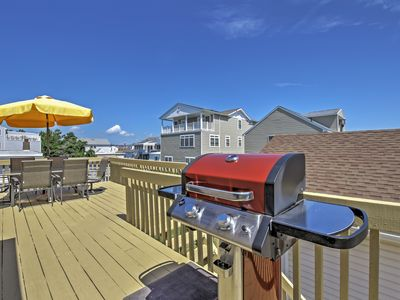 Photo for 2BR Brigantine Condo Just Steps from Beaches!
