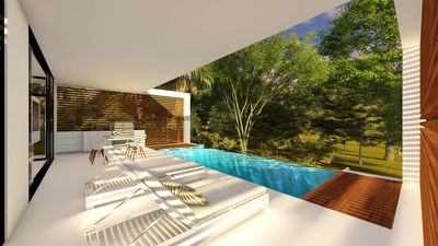 Photo for Contemporary house with mountain views, in Ojochal