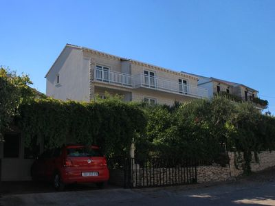 Photo for One bedroom apartment with balcony and sea view Korčula