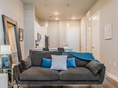 Photo for Modern condo in Medical District, good for longer stays