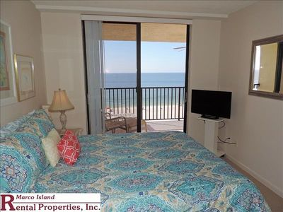 Photo for Sea Winds 603; Beach Front condo with 2 full bathrooms. Excellent view of the entire beach! Free Wifi