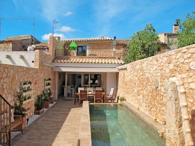Photo for 3 bedroom Villa, sleeps 6 in Santanyí with Pool, Air Con and WiFi