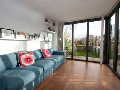 Photo for Large & stylish family home, mature garden, in sought after Notting Hill (Veeve)