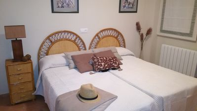 Photo for Rural Gitejar apartment with fireplace, next to Sierra Nevada.