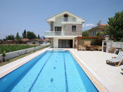 Photo for Modern Exclusive 5 bed villa with idylic mountain views and large private pool
