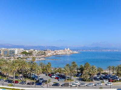 Photo for Superb 3 rooms in Cap d'Antibes with sea view
