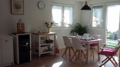 Photo for Charming apartment in rural surroundings 30 minutes from San Sebastián.