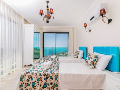 Photo for Villa Şato -Luxury Bedroom Villa with Large Private Pool and Wonderfull Seaviews