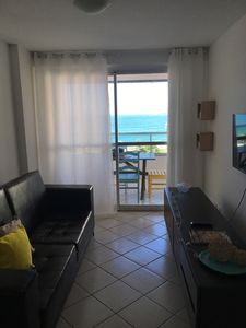Photo for Sea front apt with AR Condic, WIFI and garage