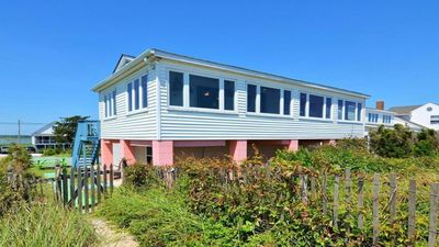 Photo for Beachfront Sunrise  - Waterfront house w/ bay and refuge views