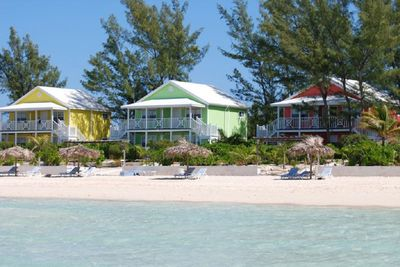 View of Cocodimama Resort from Caribbean