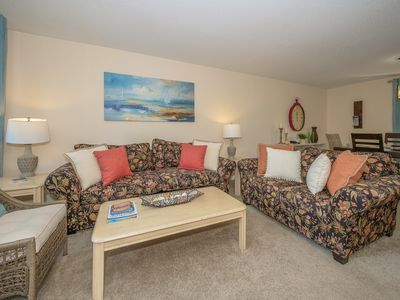 Photo for Cozy ocean oriented town home - short walk to beach