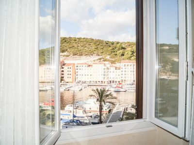 Photo for Apartment on the port of Bonifacio a mythical place in the Mediterranean