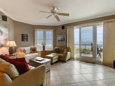 Photo for Lovely Oceanfront Condo With Stunning Ocean Views!