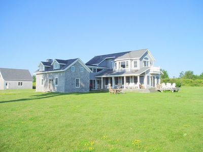 Photo for 5 BR Water Front House on 700 Acre Nature Preserve on  Private Island
