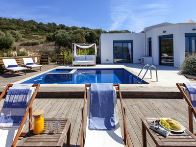 Photo for Villa Alma With PrivatePool & AmazingViews In Ammouso Now With 10%Off Until 18/7