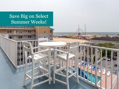 Photo for Belmont Towers 810 - New Furniture, Beautiful Boardwalk Condo (Side)!