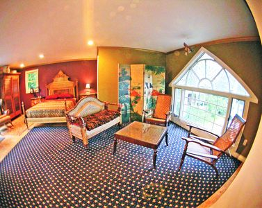 Photo for Heart of Saugatuck! 5 min to Lake MI Beach-Spacious Carriage House, Private Deck