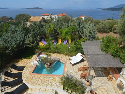 Photo for Greek Dream Only 1h From Athens In The Island Of Evia In A Sea View House