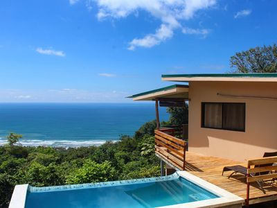 Photo for Villa w/ Private Infinity Pool & STUNNING View Perched Above Santa Teresa Beach