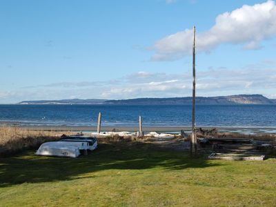 Photo for Rare Find - Waterfront Beal Beach House-Private Beach/Majestic View